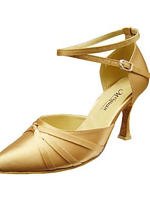 aanpassen van de prestaties dans schoenen satijn bovenste moderne schoenen voor vrouwen