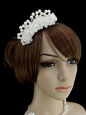 Women's Satin Headpiece-Wedding / Special Occasion / Casual / Outdoor Barrette