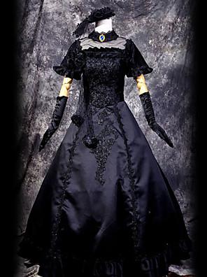 Inspirado por Vocaloid Hagane Miku Vídeo Jogo Cosplay Costumes Ternos de Cosplay Patchwork Preto Top