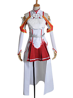 Sword Art Online Asuna Yuuki anime cosplay-kostyme