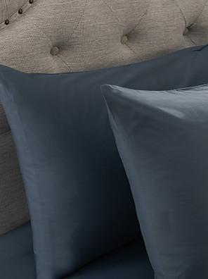 eenvoudig&opulence® 2-pack kussensloop, 300 tc 100% katoen stevige lichtblauw
