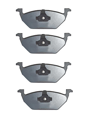 OE Replacement Front Platinum Premium Ceramic Brake Pad Set För Volkswagen Golf 2000-2006