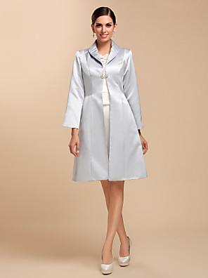 Wedding  Wraps Coats/Jackets Satin Silver Wedding / Party/Evening / Casual Clasp