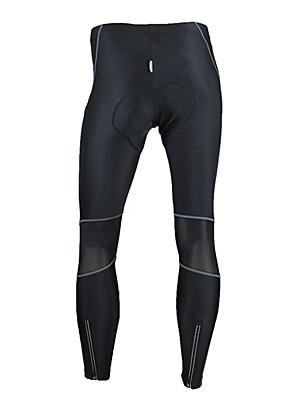 SANTIC® Cyklo kalhoty Pánské Jezdit na koleProdyšné / Zahřívací / Větruvzdorné / Anatomický design / Nositelný / Vysoká prodyšnost (>