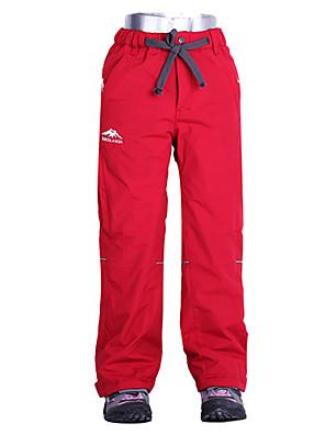 Crianças Calças Esqui / Acampar e Caminhar / Alpinismo / Esportes de Neve / SnowboardImpermeável / Respirável / Mantenha Quente / A Prova
