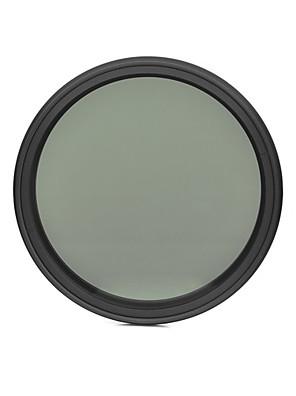 fotga® 52 milímetros que diminui magro nd filtro de densidade neutra ND2 variável ajustável para ND400