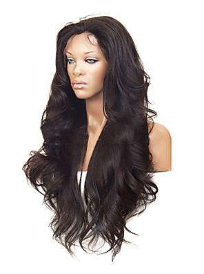 """26 """"100% lidské vlasy Celebrity Brazilský vlasy přední krajky paruka"""