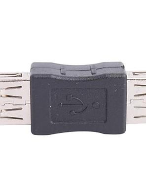 נקבה USB לנקבה מתאם