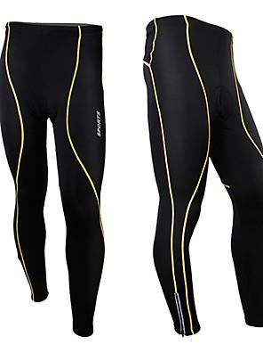 MOON® Calças Para Ciclismo Homens Moto Secagem Rápida / Vestível Meia-calça / Calças / Fundos Algodão / Terylene Primavera / Outono