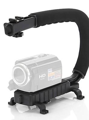צורת C מייצב וידאו ידית אחיזת הר למצלמת DSLR למצלמות DV