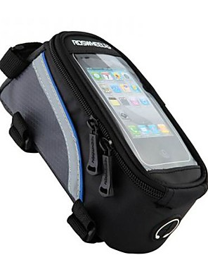 ROSWHEEL® Cyklistická taška 1.5LBrašna na rám / Mobilní telefon BagVoděodolný / Reflexní pásek / Protiskluzový povrch / Nositelný /