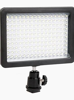 WanSen W160 LED videolys Lampe 12W 1280LM 5600K/3200K lysdæmpes til Canon Nikon Pentax DSLR kamera Video Light Wholesale