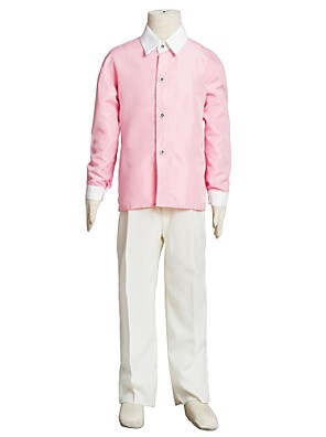 Boy's Cotton Blend Shirt,Summer / Spring / Fall Solid