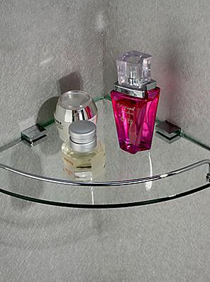 Driehoekige Corner Opslag glasplaat, 10 inch x 10 inch