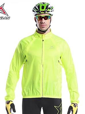 MYSENLAN® ג'קט לרכיבה לגברים שרוול ארוך אופניים שמור על חום הגוף / ייבוש מהיר / עמיד / עמיד אולטרה סגול / מוגן מגשם ג'קט / צמרותאלסטיין /