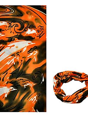 בנדנה / צוואר קרסוליות / כובעים אופנייים נושם / עמיד / עמיד אולטרה סגול / לביש / קרם הגנה יוניסקס חום פוליאסטר