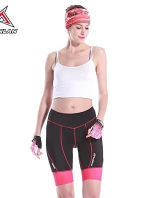 MYSENLAN® Bermudas Acolchoadas Para Ciclismo MulheresRespirável / Secagem Rápida / Resistente Raios Ultravioleta / Alta Respirabilidade