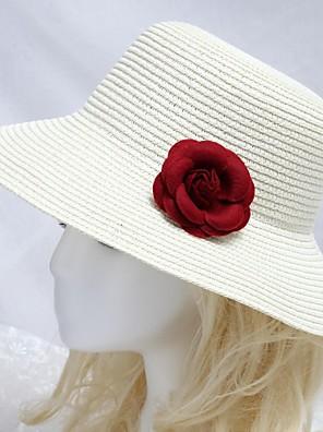 נשים / נערת פרחים נייר כיסוי ראש-אירוע מיוחד / קז'ואל / חוץ כובעים