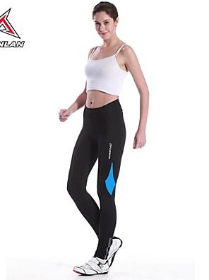 MYSENLAN® Calças Para Ciclismo MulheresRespirável / Secagem Rápida / Resistente Raios Ultravioleta / Alta Respirabilidade (>15,001g) /