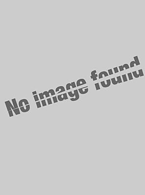SANTIC® Shorts para Ciclismo Mulheres Respirável / Tiras Refletoras / Tapete 4D Moto Fundos Nailom Cor ÚnicaHipismo / Esportes Relaxantes