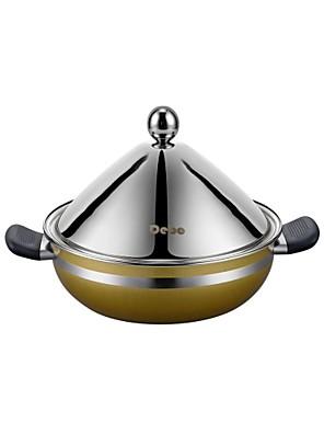 debo® dia 26cm (10.2inch) rozsdamentes acél gőzölő edény készlet
