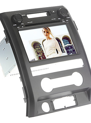 """8 """"2 din auto dvd-speler voor ford f150 2009-2014 / gps / RDS / ipod / bluetooth / ATV / swc / CANbus"""