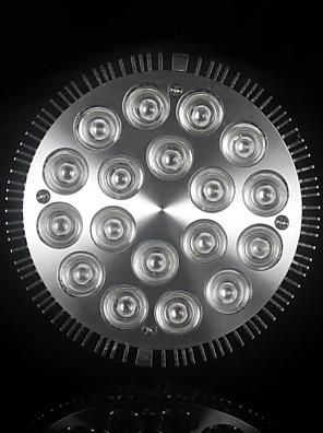 e27 54w 1080-1440lm 12red + 6blue luz LED Spot planta bulbo cresce a luz (85-265V)