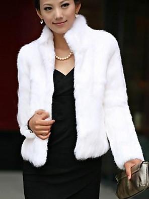 Women Faux Fur Outerwear/Top