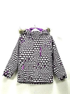 Roupa de Esqui Jaqueta de Inverno / Blusas Homens / Crianças Roupa de Inverno Tactel Vestuário de InvernoImpermeável / Respirável /