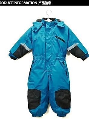 Oblečení na lyže Zimní bunda / kombinéza / Sady oblečení/Obleky Děti Zimní oblečení Nylon Oblečení na zimyVoděodolný / Prodyšné /