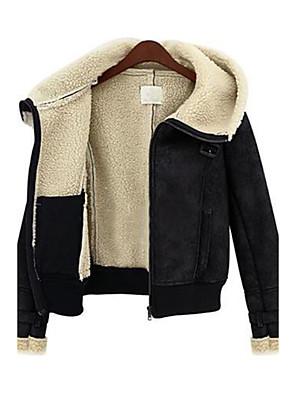 OZL®Women's Zip Slim Buckskin Coat
