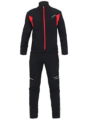 KOSHBIKE / KORAMAN® Cyklo bunda a kalhoty Pánské Dlouhé rukávy Jezdit na koleVoděodolný / Prodyšné / Zahřívací / Větruvzdorné /