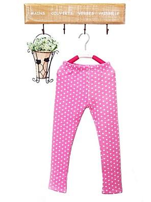 Girl's Leggings,Cotton Spring / Fall Green / Pink