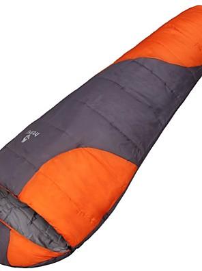 מזרן לשינה / שק שינה שק שינה מומיה יחיד -5°C כותנה חלולה 220cm X 80cm צעידה / קמפינג / דייג / לטייל / חוץ / בתוך הביתחדירות ללחות / עמיד