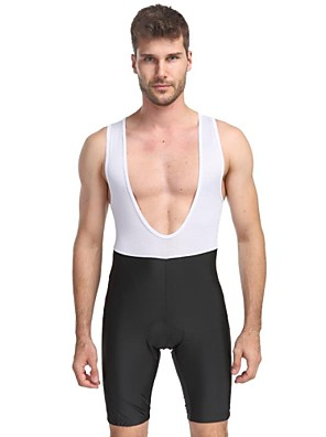 OUTTO® מכנס קצר ביב לרכיבה לגברים נושם / ייבוש מהיר / עיצוב אנטומי / חומרים קלים / 3D לוח אופניים מכנסיים קצרים עם כתפיות / מכנסיים קצרים