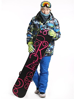 Homens Jaqueta de Inverno / Jaquetas 3-em-1 / Conjuntos de Roupas/Ternos Esqui / Acampar e Caminhar / Esportes de Neve / Downhill / Trilha