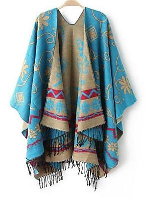 aumentando lenço nacional xales vento das mulheres