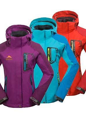 לנשים מעילי 3 ב 1 / ג'קט / ז'קטים לנשים / ז'קטים לחורף / צמרות סקי / מחנאות וטיולים / רכיבה על אופניים/אופנייים / ספורט שלגעמיד למים /