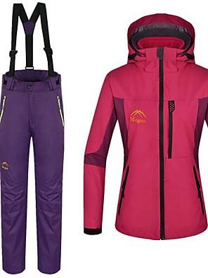 Esterno Per donna Set di vestiti/Completi / Giacche 3-in-1 / Giacche in pile / Fleece / Giacca da donna / Giacca invernaleImpermeabile /