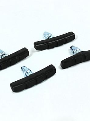 kerékpáros gumi + vas fekete fékezési fékbetétek (4 db)