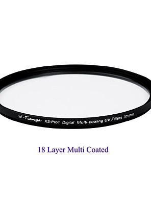 """tianya® 37 מ""""מ mc uv מסנן UV מוטי-ציפוי דיגיטלי רזה אולטרה XS-Pro1 עבור עדשת 14-42mm אולימפוס 1500c sony"""