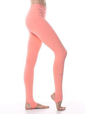 מכנסיים יוגה תחתיות / מכנסיים / טייץ רכיבה על אופניים / חותלות נמתח לארבעה כיוונים / תחושה מוחזקת / איזור דחיסה טבעי מתיחה בגדי ספורט
