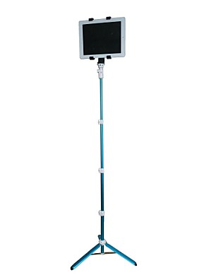 poplar® přenosný teleskopický monopod samospouští tyč pro telefon, iPad, digitální fotoaparát