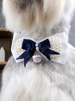 Gatos / Cães Laços / Acessórios de Cabelo / Gravata/Gravata Borboleta Azul Roupas para Cães Primavera/Outono Casamento / Fantasias
