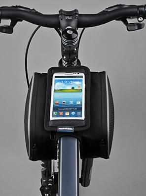 ROSWHEEL® Cyklistická taška 1.8LBrašna na rám / Mobilní telefon Bag Multifunkční / Dotyková obrazovka Taška na kolo PVC / 600D Polyester