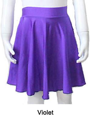 בלט חצאיות בגדי ריקוד נשים / בגדי ריקוד ילדים ביצועים / אימון ניילון / לייקרה חלק 1 חצאית As the Size Chart
