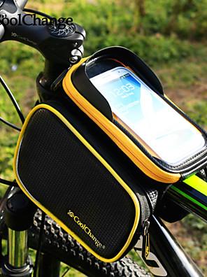 CoolChange® Cyklistická taška about3LLBrašna na rám / Cyklistika Backpack / Turistické doplňkyOdolné vůči dešti / Reflexní pásek /