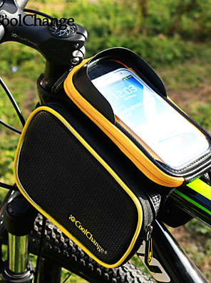 CoolChange® תיק אופניים about3LLרכיבה על אופניים תרמיל / אביזרים לתיקי גב / תיקים למסגרת האופניים מוגן מגשם / פס מחזיר אור / מונע החלקה