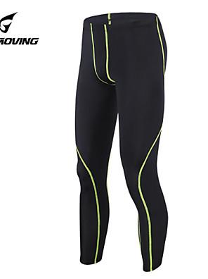 Běh Tepláková souprava / Legíny / Kalhoty / Kompresní Suit / Spodní část oděvu PánskéVysoká prodyšnost (> 15,001 g) / Propustnost vůči