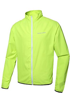 Cyklo bunda Unisex Dlouhé rukávy Jezdit na koleVoděodolný / Prodyšné / Rychleschnoucí / Větruvzdorné / Odolný vůči UV záření / Tepelná
